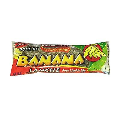 Banana Lanche Oliveira - Cx. 450 unidades de 20g