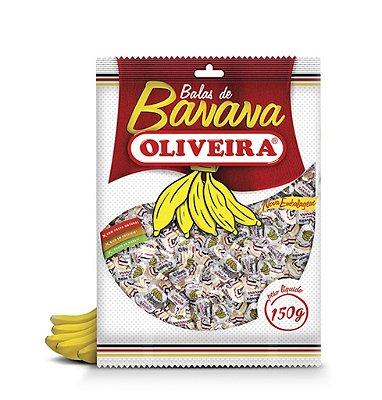 Bala de Banana Oliveira - 36 Pacotes de 150g