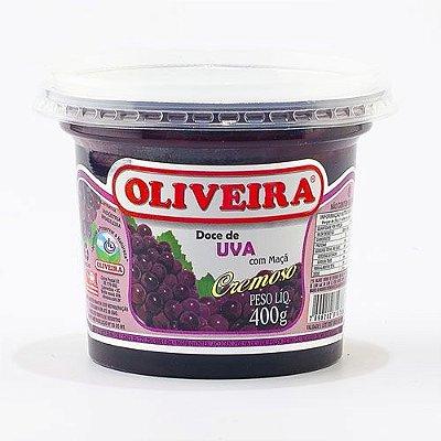 Doce de Uva Oliveira - 12 Potes de 400g