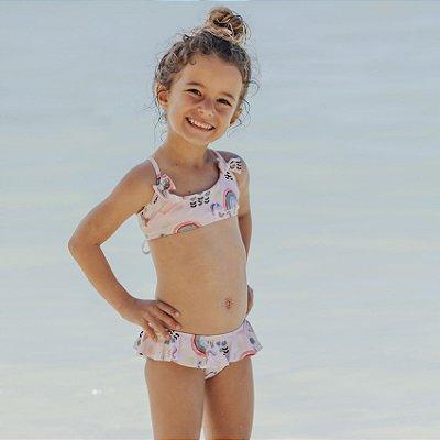 Biquíni Infantil Malibu - Rosy