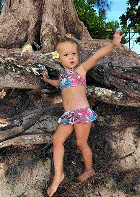 Biquíni Infantil Top Nadador - Ginger
