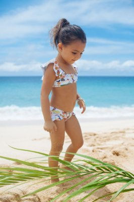 UaD-Biquíni Infantil Panamá - Jade