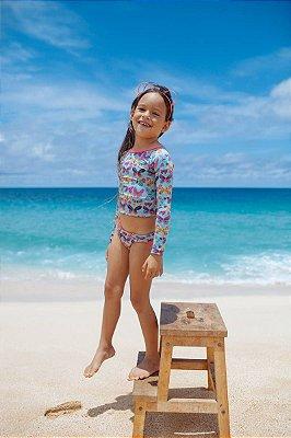UbI-Kit Camisa e Calcinha Infantil Waikele - Lisa