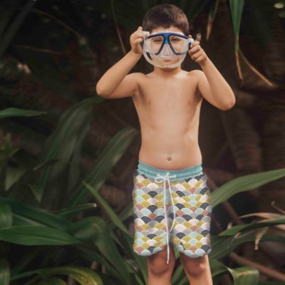 Bermuda Infantil Manoa - Tim