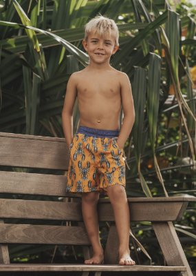 WmS-Bermuda Infantil Menino Manoa - Hilo