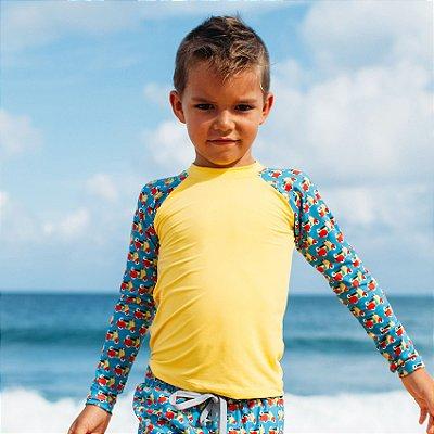 Camisa UV Infantil Menino Manga Longa Zuma - Sun/Tom