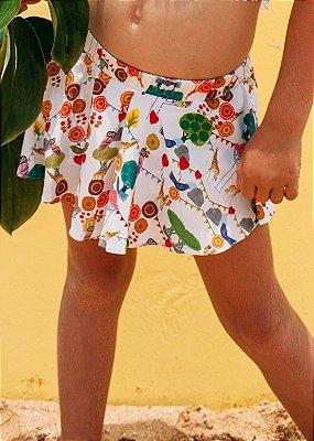 Short Saia Infantil Santa Teresa - Jade