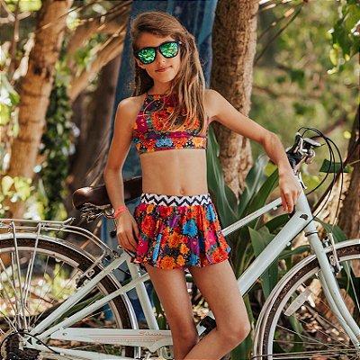 Short Saia Infantil Santa Barbara - Zoe/Sol