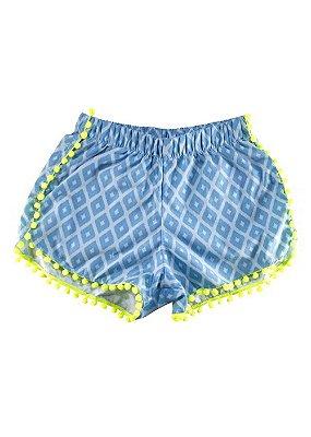WkJ-Short Infantil Menina Pura Vida - Lanai