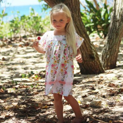 Vestido Infantil Honolua - Lilly