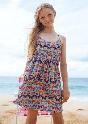 Vestido Infantil Honolua - Lisa