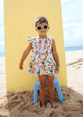Vestido Infantil Sardinia - Jade