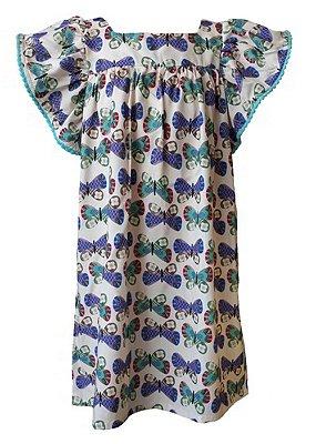 WeL-Vestido Infantil Estampado Honolua - Moana