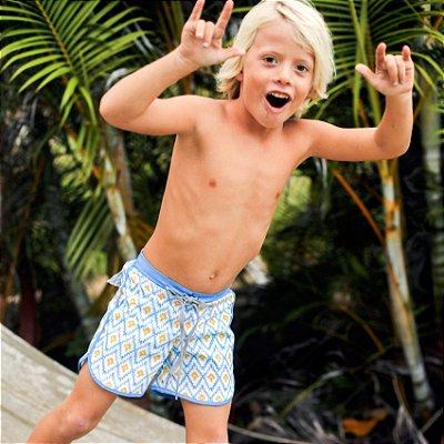 Bermuda Infantil Masculina Estampada Kai - Alohi