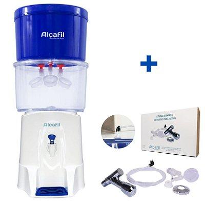 Alcafil Kit Combo Clean Eco 2 - Água Alcalina e Ionizada + Magnésio