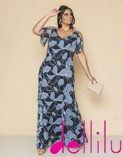 Vestido Longo Estampado - FF0066