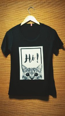 T-SHIRT CAT - MB92D124
