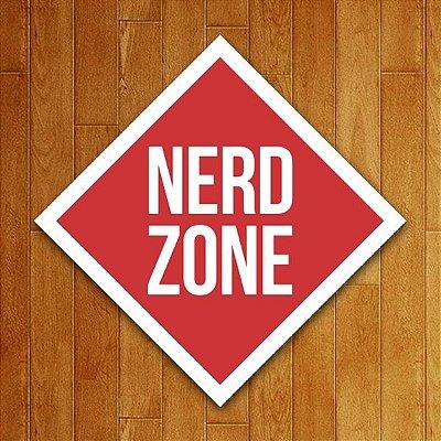 Placa Decorativa Nerd Zone V2