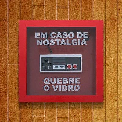 EXCLUSIVO - Quadro De Emergência Nostalgia 8 Bits