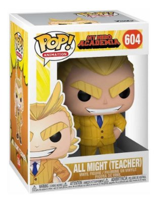 POP Funko - All Might Teacher #604