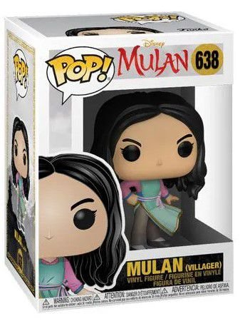 POP Funko - Mulan Villager - Live Action #638