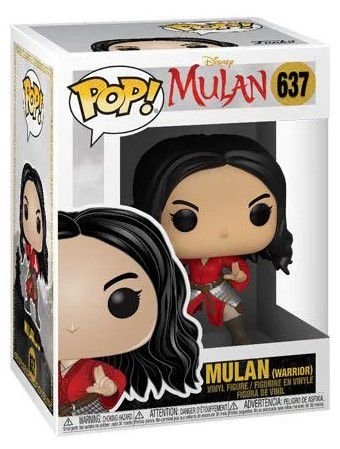 POP Funko - Mulan Warrior - LIVE ACTION #637