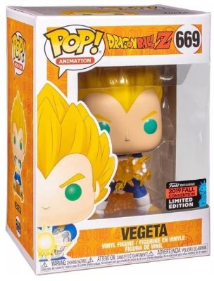 POP Funko - Vegeta Dragon Ball #669