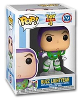 POP Funko - Buzz Lightyear - Toy Story #523