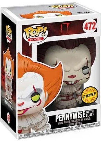 POP Funko - Pennywise with boat (chase) #472