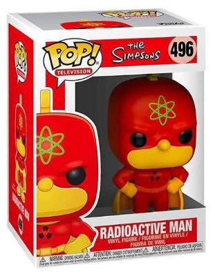 POP Funko - Radioactive Man - The Simpsons #496