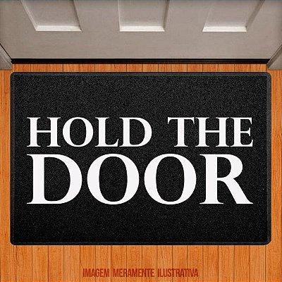 Capacho Hold the door