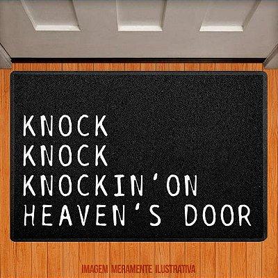 Capacho Knock Knock