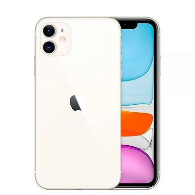 """Celular iPhone 11 Apple (128GB) Branco e Preto tela 6,1"""" Câmera 12MP iOS"""