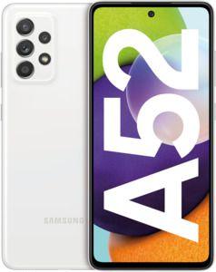 Celular Samsung Galaxy A52 128GB 4G Wi-Fi Tela 6.5'' Dual Chip 6GB RAM Câmera Quádrupla + Selfie 32MP - Branco