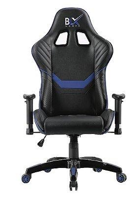 Cadeira Gamer BLX 6009 Preta Azul