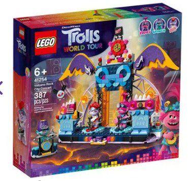 LEGO Trolls - Concerto Vulcão Rock City