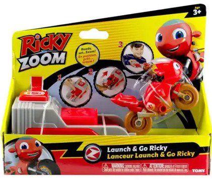 Ricky Zoom com Lançador