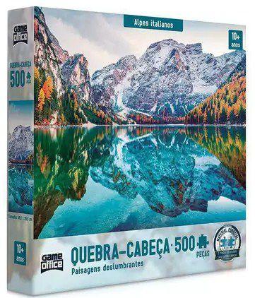 Quebra Cabeça 500 paisagens deslumbrantes