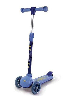Patinete 03 rodas Azul