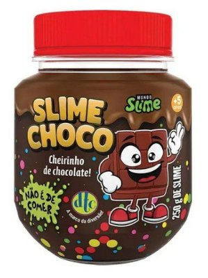 Slime Choco - Massa Gelatinosa Geleca