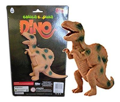 Boneco Coleção Dinossauros estica e puxa