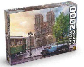 Quebra-Cabeça - 2000 Peças Catedral Notredame