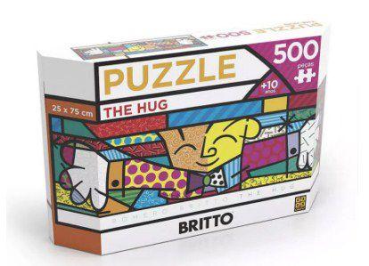 Quebra-Cabeça 500 Peças Romero Britto The Hug