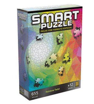 Quebra-Cabeça Smart Puzzle Rainbow Twist 655 Peças