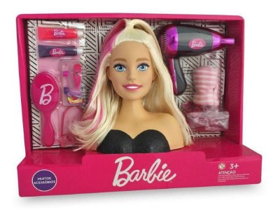 Busto Barbie Styling Hair