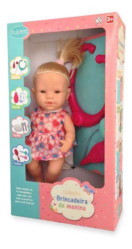 Boneca Brincadeira de Menina - Dodói