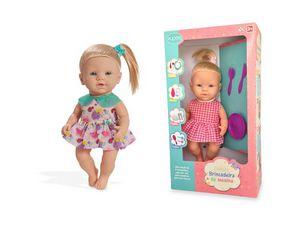 Boneca Brincadeira de Menina - Papinha