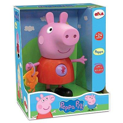 Boneca Peppa Pig com Atividades