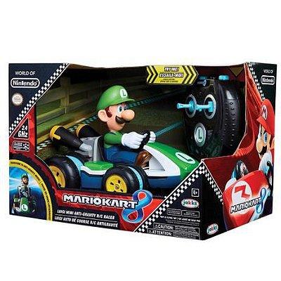 Veículo de Controle Remoto Super Mario - Luigi Racer