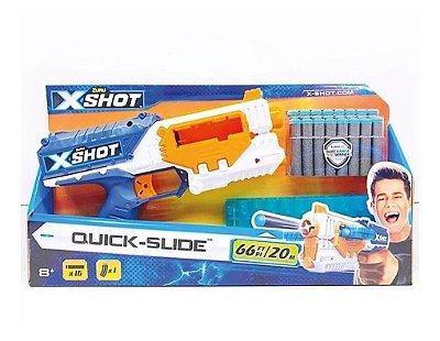 Lançador de dardos X-Shot Quick Slide